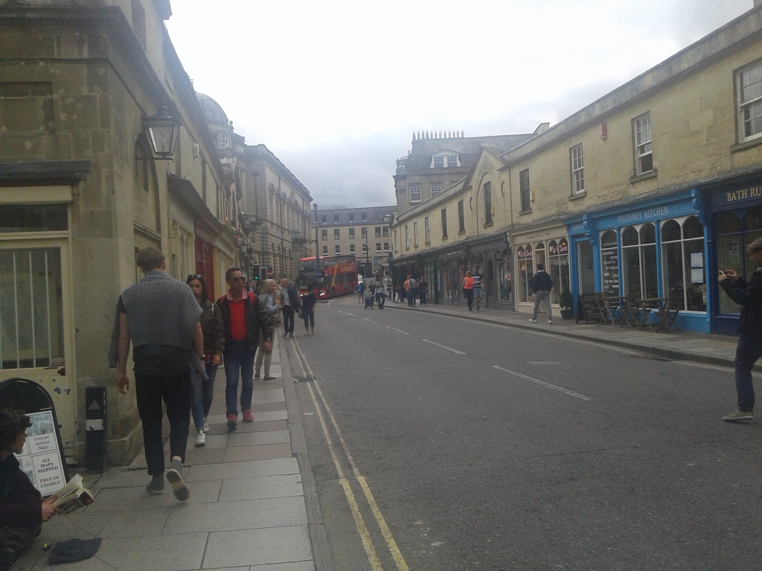 Bath - most Pulteney Bridge