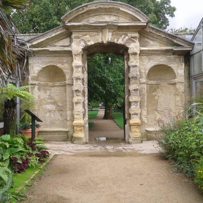 The University of Oxford Botanic Garden
